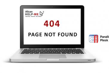 Plesk Panelde Hata Sayfası 404
