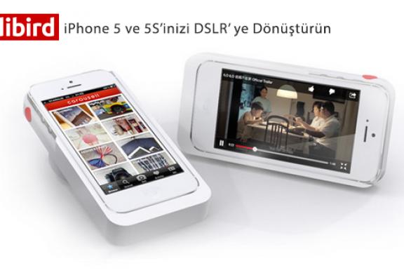 iPhone'unuzu DSLR Fotoğraf Makinası yapın