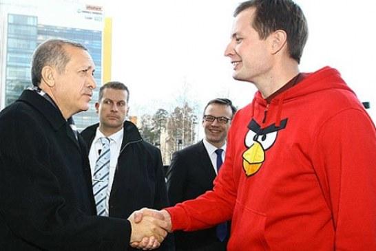 Başbakan Erdoğan'dan Angry Birds Ziyareti