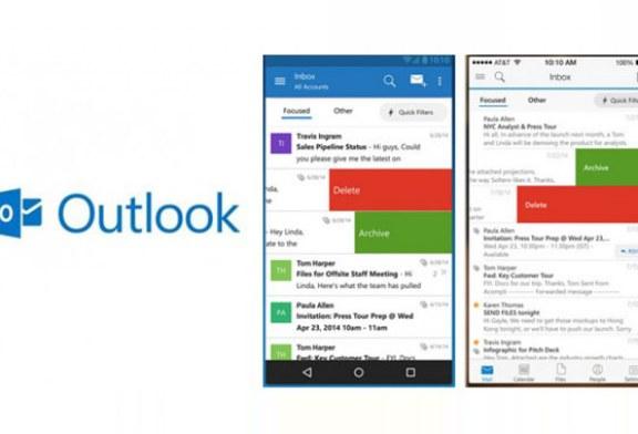 Outlook Artık iOS ve Android'te
