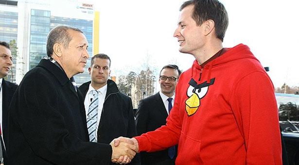 Başbakan Erdoğan ve Angry Birds