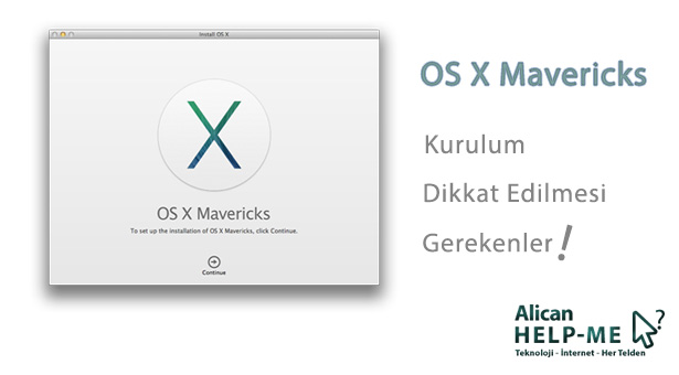 OS X Mavericks Kurulumu